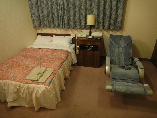 Hotel Wakow (Yonago) : ベッド