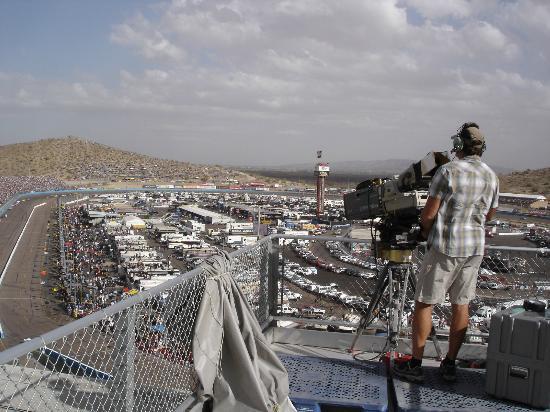 Phoenix International Raceway: Rooftop View PHX