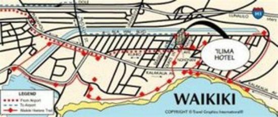 Ilima Hotel : Map