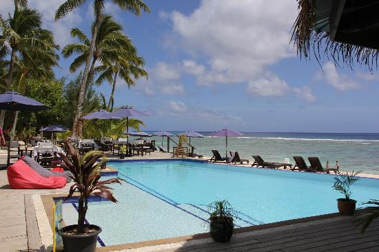 Manuia Beach Resort: Pool and Reef