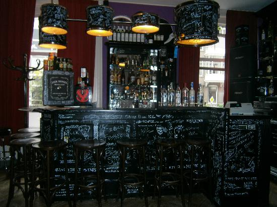 BackStage Hotel Amsterdam: le bar !!