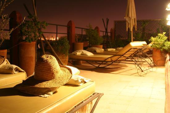 Riad d'Airain Marrakech: Terrasse