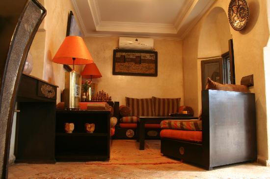 Riad d'Airain Marrakech: Coté Salon