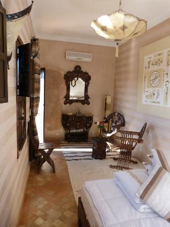 Riad d'Airain Marrakech: Chambre Gingembre