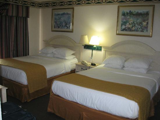 Quality Suites Lake Buena Vista: Bedroom