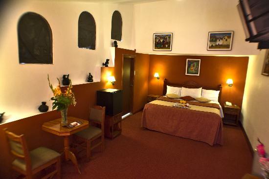 Hotel Amerinka: HABITACION MATRIMONIAL CON CAMA SUPER KING