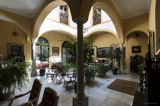 Casa San Jose: Vista Parcial Patio