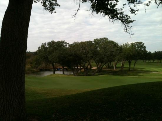‪‪Glen Rose‬, تكساس: View of Links #18 from clubhouse