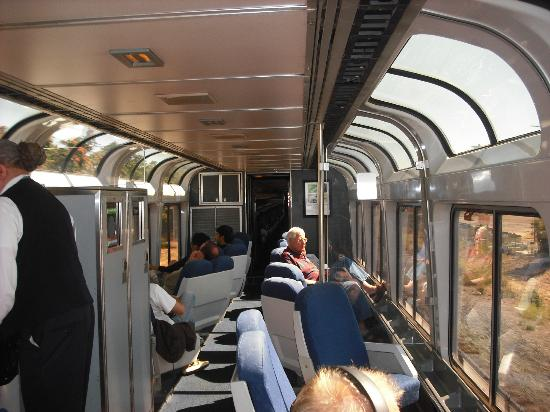 the observation lounge car picture of california zephyr california tripadvisor. Black Bedroom Furniture Sets. Home Design Ideas
