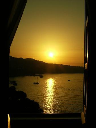 Hotel Mediterraneo Sorrento: Sunset