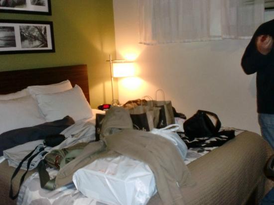 Sleep Inn Jamaica: Zimmeransicht von der Tür