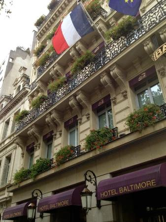 Hotel Baltimore Paris Champs-Elysees 사진