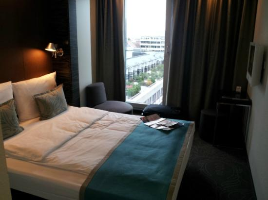 Motel One Munchen-Deutsches Museum: Room on the 10th floor
