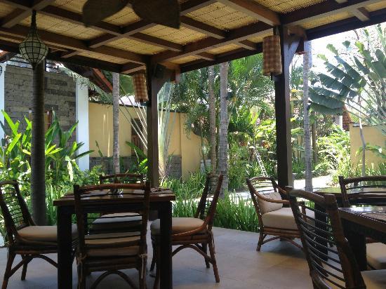 Villa de daun: Restaurant