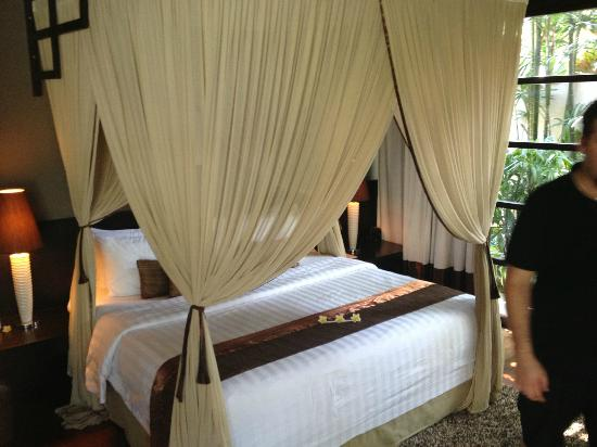 Villa de daun: Our bed