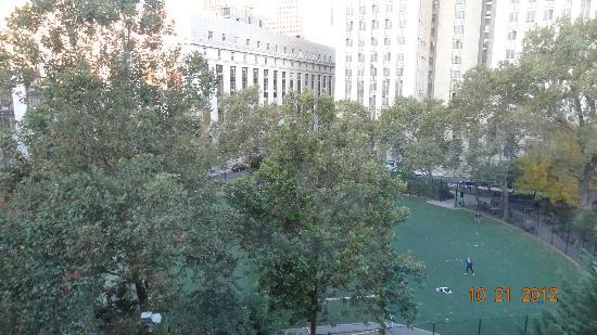 Hotel Mulberry: vue depuis la chambre