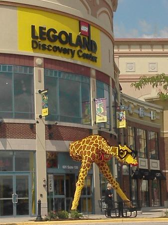 Outside of Legoland, Chicago - Picture of LEGOLAND Discovery Center ...