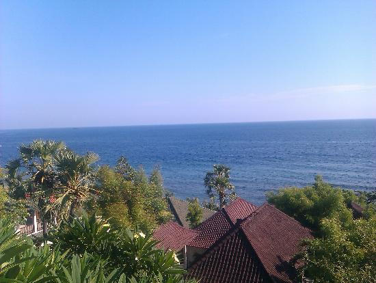 Double One Villas: view from restaurant
