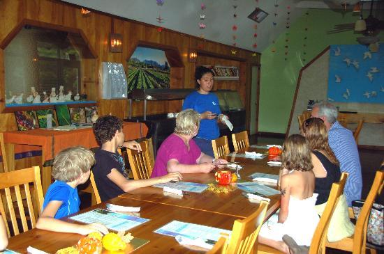 Kahumana Organic Farm & Cafe: Dinning Room
