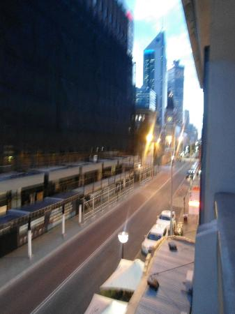 Criterion Hotel Perth: looking right from balcony