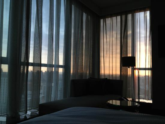 The Westin Beijing Chaoyang: View from bed