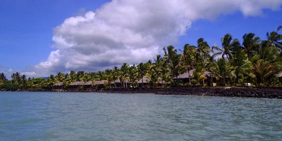 Le Vasa Resort: View from kayaking to the resort
