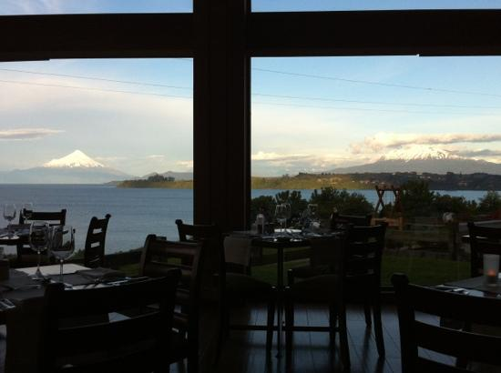 Cumbres del Lago: view from my table!