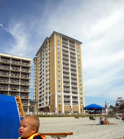 Westgate Myrtle Beach Oceanfront Resort: new bldg