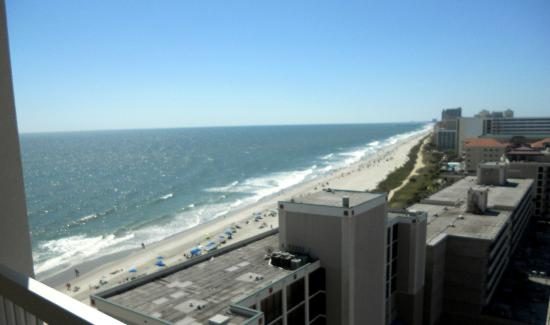 Westgate Myrtle Beach Oceanfront Resort: view from our balcony