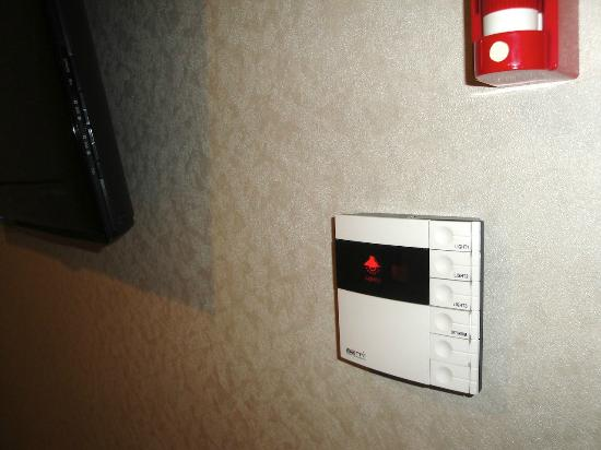 Hotel Jhill: Lighting control panel