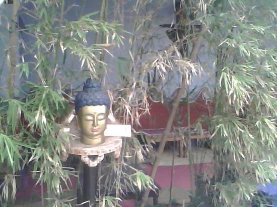 Mayambe: Thai lounge Bamboo screen