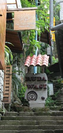 Rupa Wasi  Lodge: Entrance