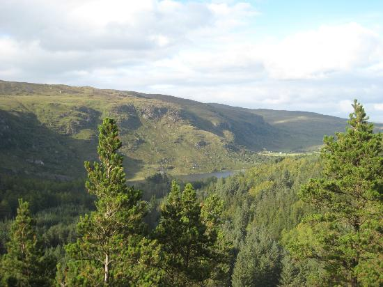 Gougane Barra Hotel: The view from Vista Point in Gougane Barra National Forest Park