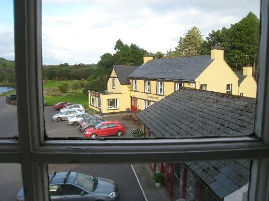 Gougane Barra Hotel: The view from the window in my bathroom