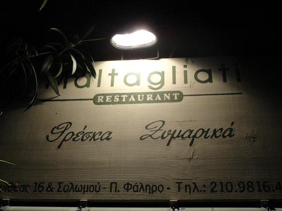 Maltagliati : Η απέριτη ταμπέλα του μέσα στα φυτά