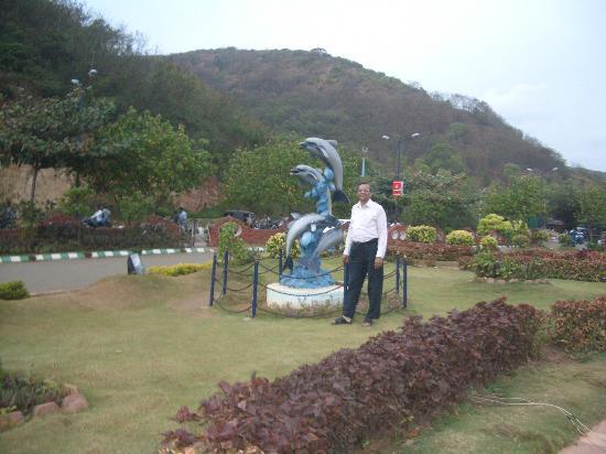 Park Near Rishikonda Beach