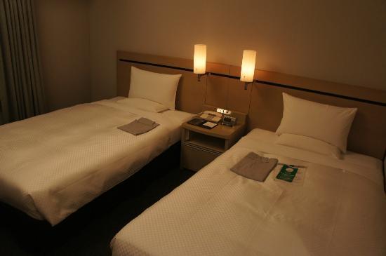 Haneda Excel Hotel Tokyu: The beds