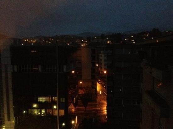 Hotel Ceresio: Vista dalla camera 613