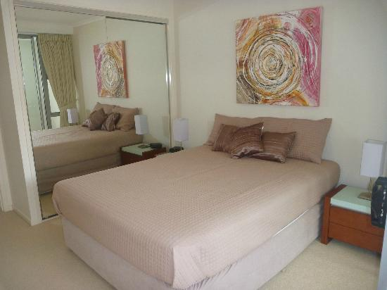 Aspire on Kings Holiday Apartments: Bedroom
