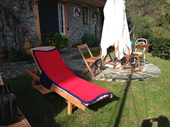 B&B Tre Mari Portofino: lounge chair