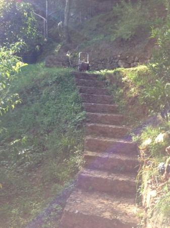 B&B Tre Mari Portofino: the fun steps...pack light!