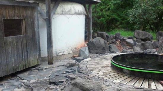 Karamatsu Spa : 露天風呂