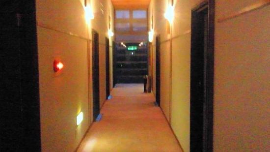Karamatsu Spa : 廊下