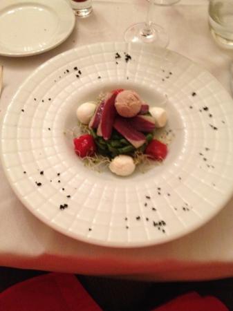 Hotel-Restaurant Edward 1er: Salat