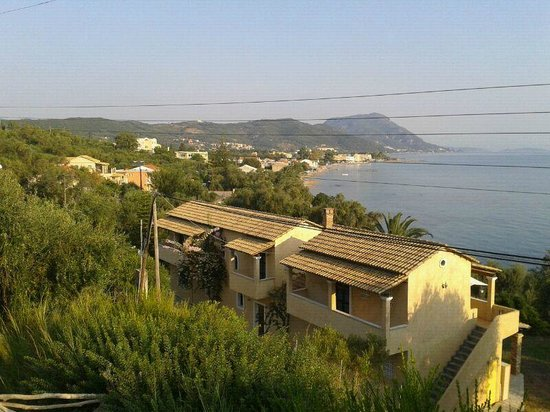 Palms & Spas Corfu Boutique Suites & Villas: SEA VIEW FROM THE HOTEL