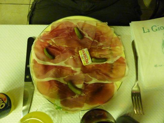 La Giocondina : le jambon
