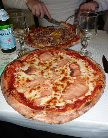 La Giocondina : les pizzas
