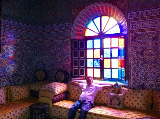 L Mansion Marrakech : Just relaxing with the best Moroccan music
