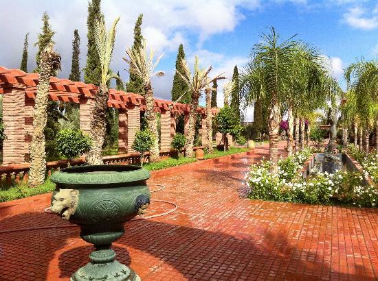 L Mansion Marrakech : Beautiful garden