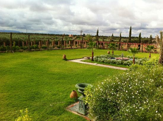 L Mansion Marrakech: Beautiful garden and very big